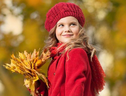 Детето и есента