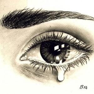 око, сълза