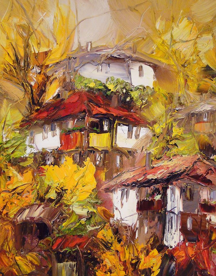 Картина къща