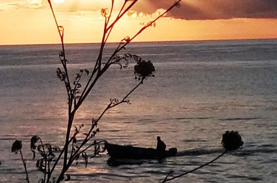 Foto con pescatore